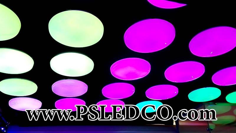 حباب رنگی سقف
